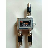 spriter antena tv cabang 2 way1setspriter signal+drat connector campre