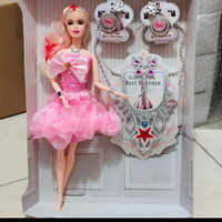 mainan boneka barbie lengkap
