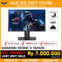 LED ASUS ROG SWIFT PG248Q 24 180Hz 1ms G-Sync FHD Pivot Tilt Monitor