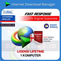 Internet Download Manager IDM Lisensi 1PC LIFETIME