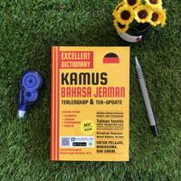BUKU BAHASA JERMAN EXCELLENT DICTIONARY 'KAMUS BAHASA JERMAN'