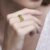Knot - Cincin Perak 925 18k Gold Plated Ring by AR Signature