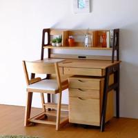 1 set meja kantor kursi