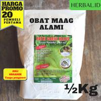 tepung pati garut organik arrowroot berat 500gr
