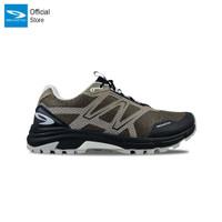 910 Nineten Yuza Sepatu Lari Trail Running - Coklat/Hitam/Abu-Abu - 39