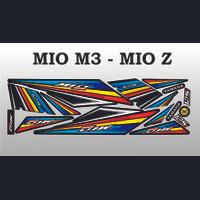 STICKER MOTOR VARIASI THAILOOK YAMAHA ALL MIO M3 125 DAN MIO Z VARIASI
