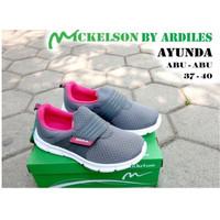 Sepatu Sneakers Wanita Ardiles AYUNDA Model Slip On Terbaru 37-40
