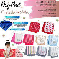 CUDDLE ME - DRY PAD/ PERLAK WATERPROOF/ ALAS OMPOL BAYI