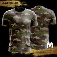 Sport Tee Lifestyle Mekanuma - Energy Booster 08 Camouflage Series