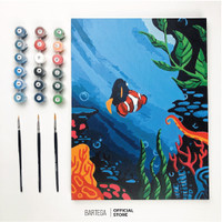 Bartega Paint by Number Kit : Beyond the Sea
