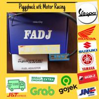 Fuel Adjuster Piggyback Iquteche untuk Motor Racing Vespa/Yamaha/Honda
