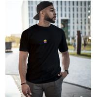 Kaos Tech-Shirt T-shirt Apple Retro Custom