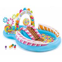 Intex Inflatable Swimming Pool Kids / Kolam Renang Air Mancur Anak - candy zone
