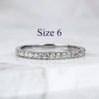Alice - Cincin Moissanite Silver Ring by AR Signature