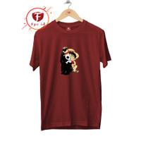Kaos Pria Distro Jumbo Cotton Combed Premium Baju Wanita 016