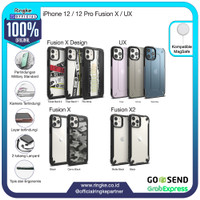 Ringke iPhone 12 / 12 Pro Fusion X Softcase Military Armor Anti Crack
