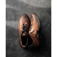 Sepatu Casual Kulit Pria - Winshor - Eliot CH Brown