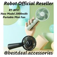 Robot RT-BFS1 Kipas Angin Portable Mini Fan 2000mAh New Model RT-BF11