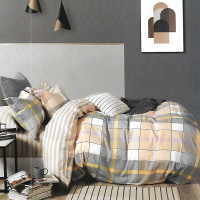 Sleep Buddy Set Sprei Square Kreamy Cotton Sateen King Size