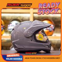 Helm Motor ARAI Tour Cross 3 TX3 Modern Grey Adventure Helmet Original