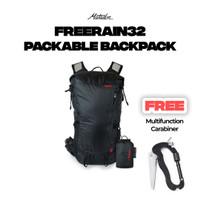 Tas Travel Matador Freerain32 Backpack Waterproof 32 Liter Grey
