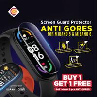 Xiaomi MI Band 6 Anti Gores Screen Protector Pelindung Layar Premium