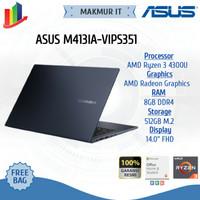 ASUS M413IA-VIPS351 14/R3-4300U/UMA/8G/512G PCIE/VIPS FHD/BLACK/OPI