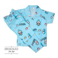 Piyama Anak Laki Laki / Perempuan Usia 10-12 Tahun (Size 12) Motif - Doraemon