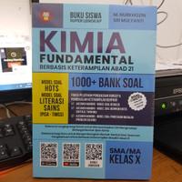 BUKU KIMIA FUNDAMENTAL 1000+ BANK SOAL SMA/MA Kelas 10