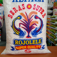 beras rojolele 5 kg murah - Putih, 5 KG