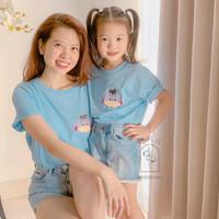 Mom and Kids Couple Tshirt / Disney Tsum2 Eeyore / kaos couple / twin