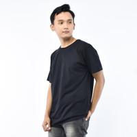 SEYES T3036 Tumblr Tshirt Pria Atasan Kaos Pria Warna Hitam