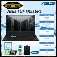 ASUS TUF DASH F15 FX516PE - I7R5B6T-O I7-11370H RTX3050TI