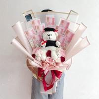 Money Bouquet 500k Wisuda Premium / Hadiah Bunga Buket Graduation Anak