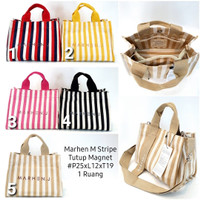 Tas Marhen J Rico Stripes L009 / MarhenJ / Marhen J salur / tas kanvas