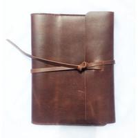 Kay Leather Book Cover Sampul Buku Kerja