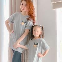 Mom Kids Matching Twin Mickey Tsum2 Tshirt / kaos couple mom and kids - Adult