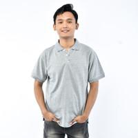 SEYES T3026 Tumblr Tee Polo shirt Pria Atasan Kaos Pria Abu