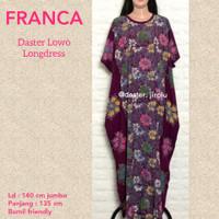 Daster jumbo murah batik baju tidur adem nyaman CEVA