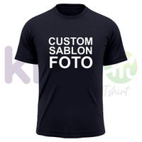 CUSTOM SABLON FOTO - SABLON DIGITAL PRINTING DTF (SIZE XL)