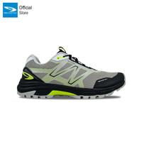 910 Nineten Yuza Sepatu Lari Trail Running - Abu-abu/Hitam/Hijau Neon