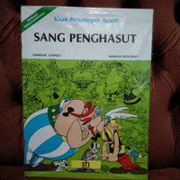 Komik Kisah Petualangan Asterix Sang Penghasut