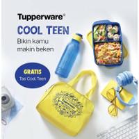 Tempat makan sekat Tupperware coolteen bonus Tas