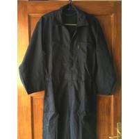 jumpsuit overall wearpack polos mens pria baju montir thrift dark blue