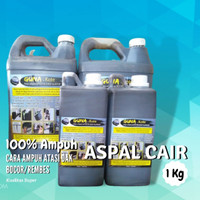 Aspal Cair (1kg) Anti Rembes Anti Bocor Genteng Lantai Dak Atap