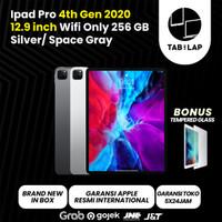 Apple iPad Pro 4th Gen 2020 12.9 Inch 256GB Wifi Only/Cellular BNIB - Silver-Wifi