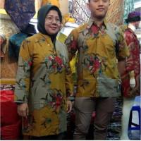 baju batik wanita dress baju batik pria lengan pendek batik couple - cowok, 6XL
