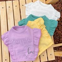 Baju Anjing Kucing - Chaewon Crop Top Kaos Anjing Kucing Dog Cat Shirt