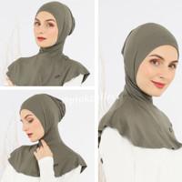 Ciput Inner Ninja Hijab Premium Spandek Rayon   Dalaman Jilbab Antem