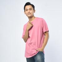 SEYES T3000 Tumblr Tshirt Pria Atasan Kaos Pria Warna Pink